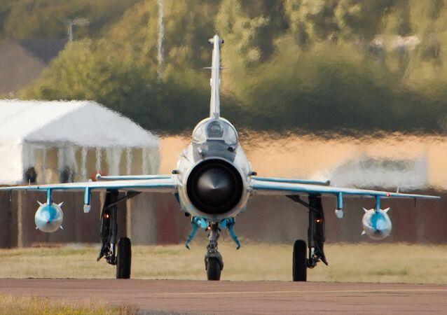 Un MiG-21 (image d'illustration)
