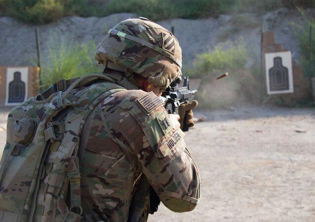 Un soldat de l'armée américaine (image d'illustration)
