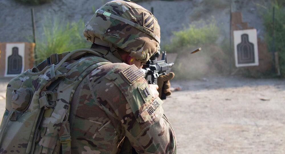 Un soldat de l'armée américaine en Afghanistan (image d'illustration)