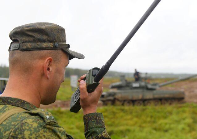 Exercice dans la région militaire Ouest, archives
