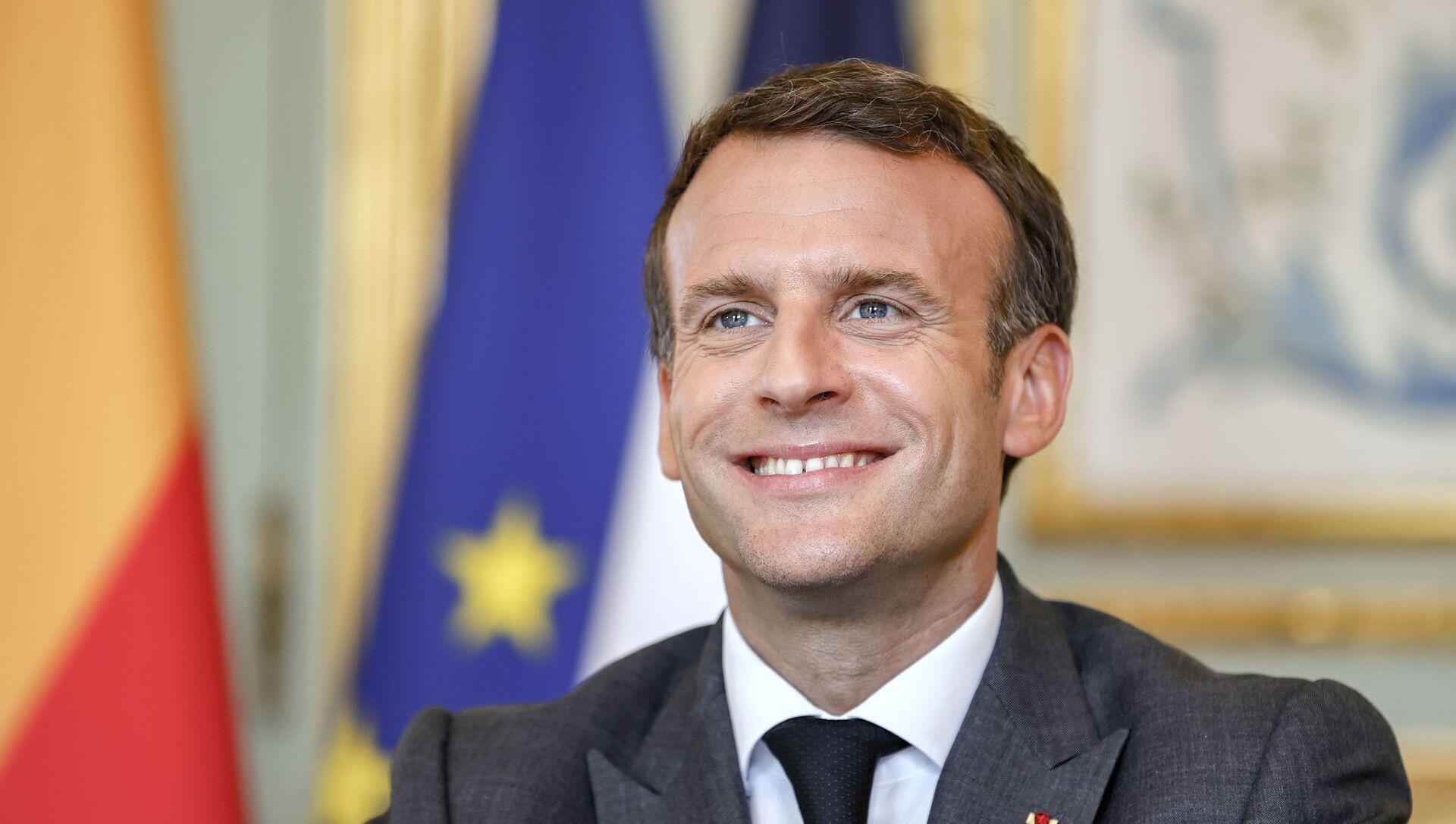 Emmanuel Macron - Sputnik France, 1920, 07.09.2021