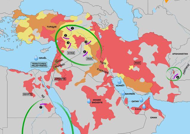 L'eau au Moyen-Orient, source de conflits et d'inégalités face aux pénuries
