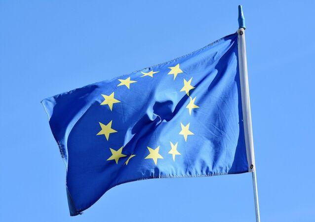 Un drapeau européen (image d'illustration)
