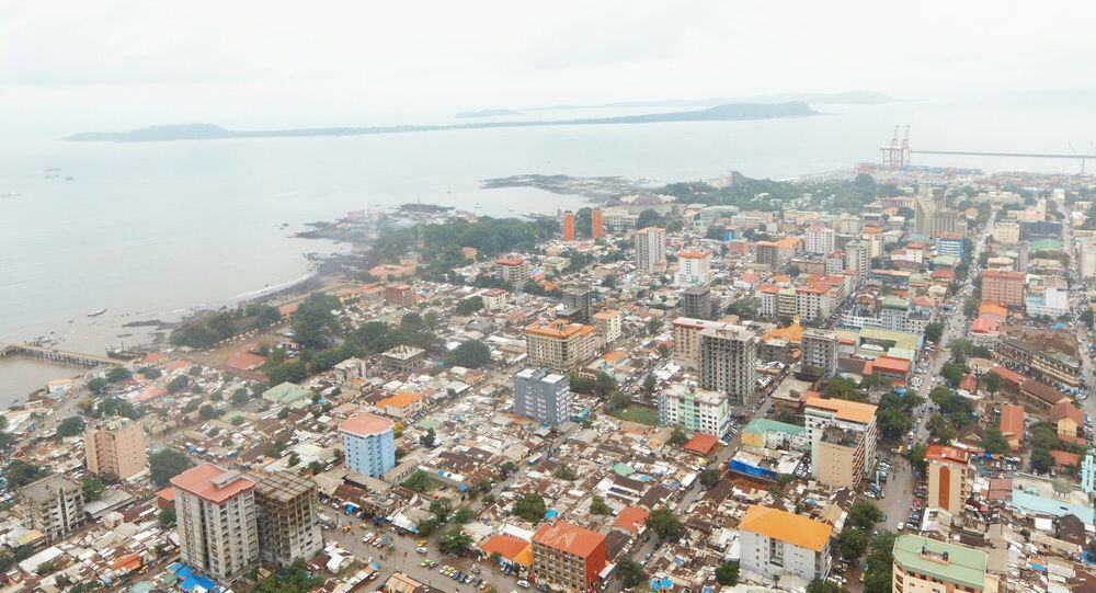 Ville de Conacry, Guinée