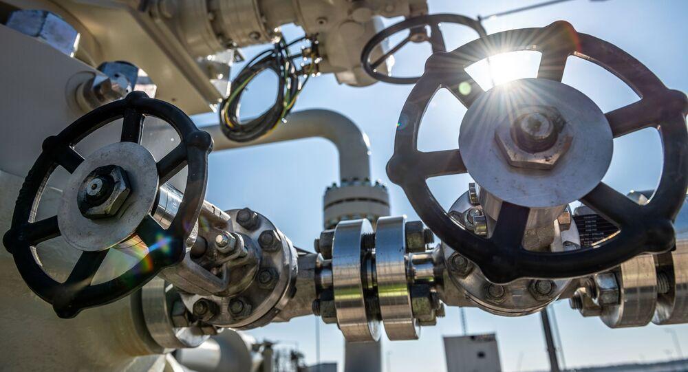 Un chantier du gazoduc Nord Stream 2 en Allemagne (archive photo)