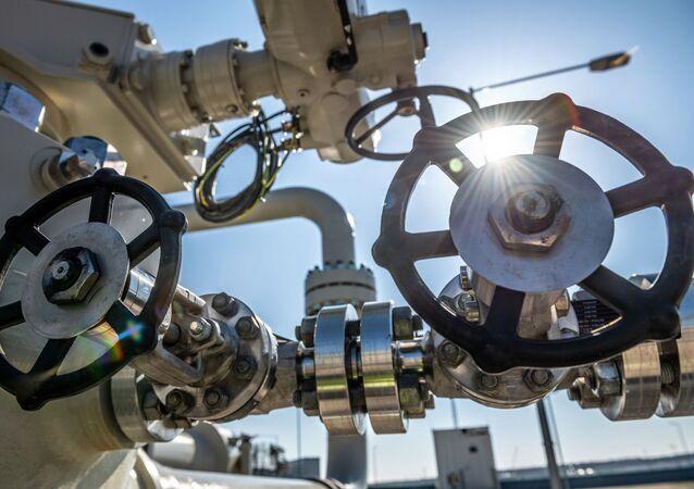 Un gazoduc en chantier (archive photo)