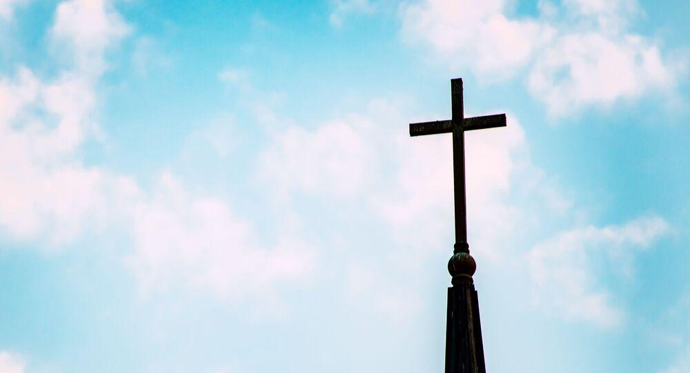 Une croix chrétienne