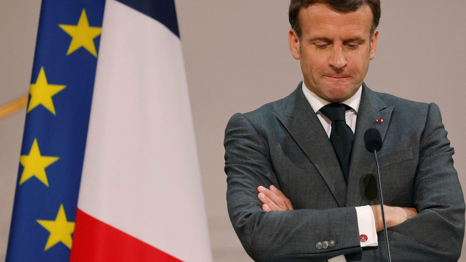 Emmanuel Macron - Sputnik France, 1920, 17.08.2021
