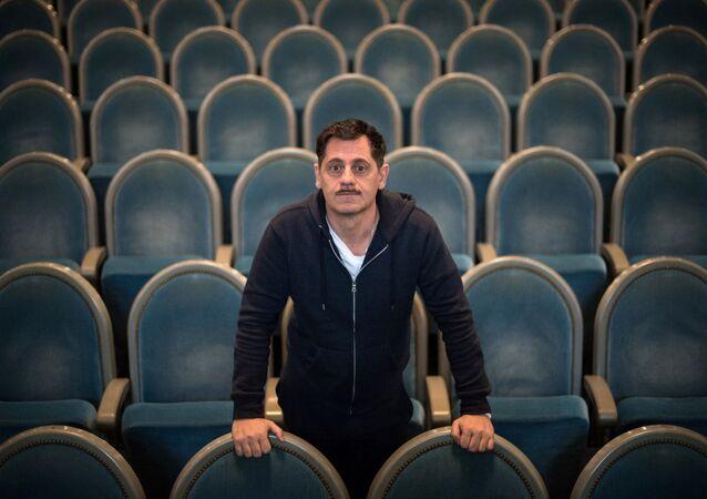 Olivier Py, directeur du festival d'Avignon