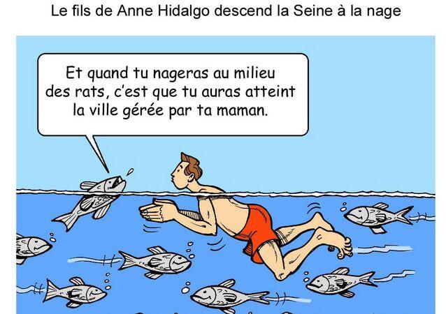 Le fils d'Anne Hidalgo plongerait... dans le bain politique!
