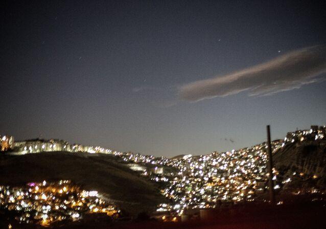 Vue sur la ville de Damas