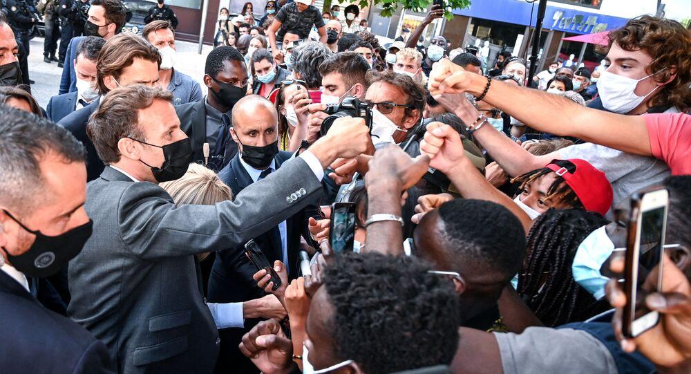 Le procureur requiert 18 mois de prison contre Damien Tarel — Macron giflé