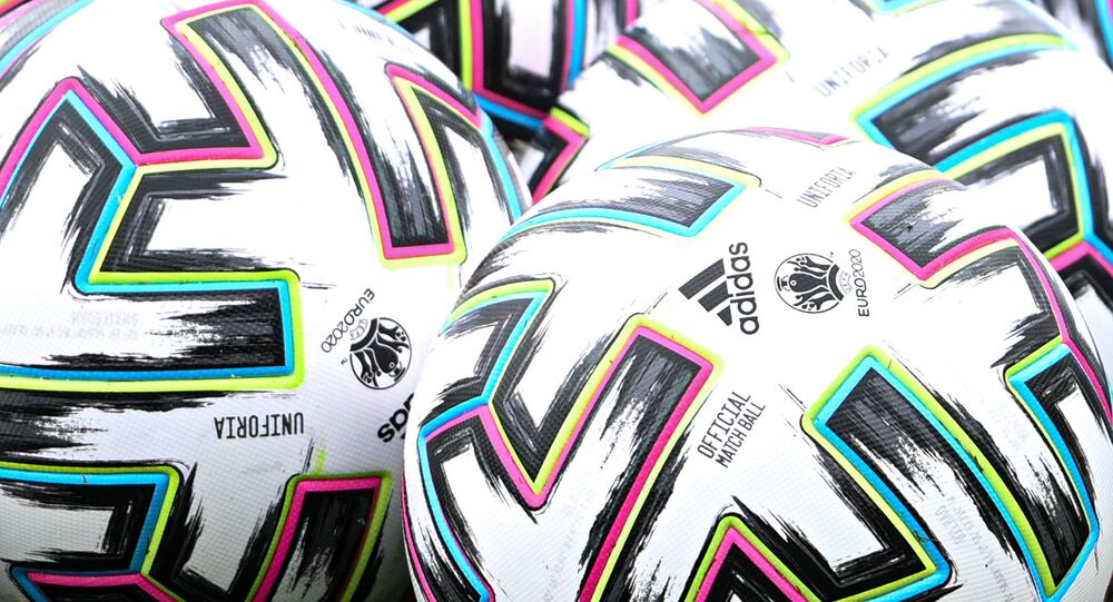 Football. UEFA EURO 2021. Image d'illustration.
