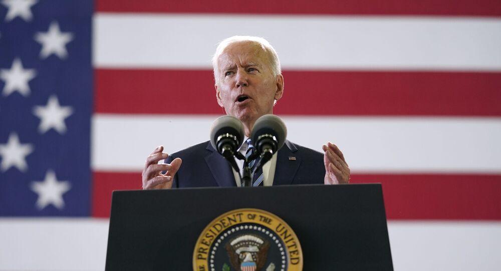 Joe Biden au Royaume-Uni (AP Photo/Patrick Semansky)