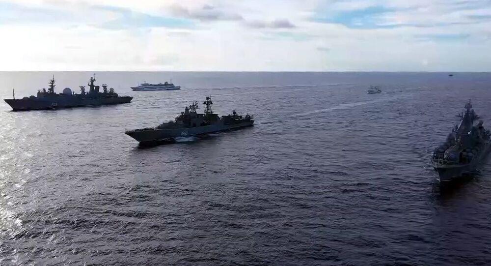 Des exercices maritimes russes dans l'océan Pacifique