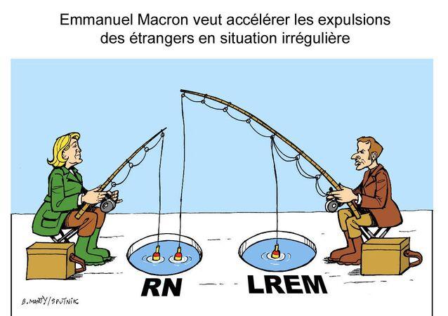 Emmanuel Macron veut accélérer les expulsions des étrangers en situation irrégulière