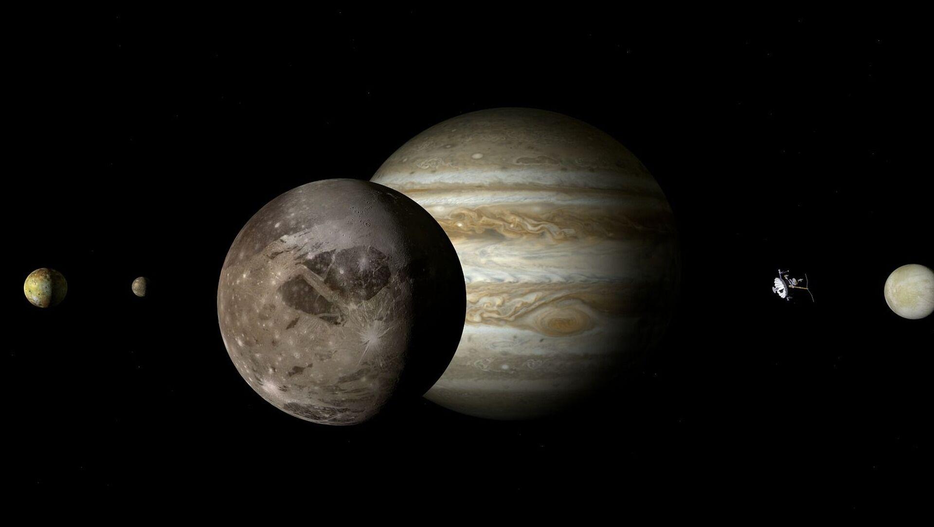 Jupiter et Ganymède - Sputnik France, 1920, 30.07.2021