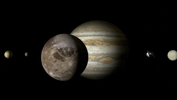 Jupiter et Ganymède - Sputnik France