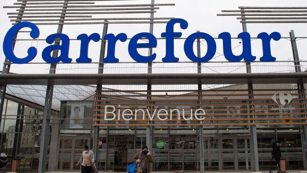 Le groupe Carrefour - Sputnik France