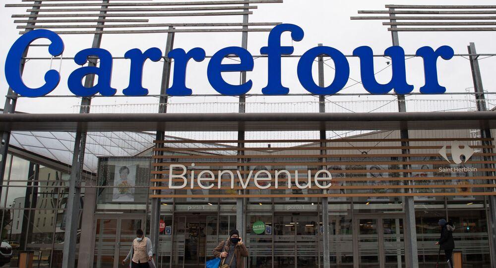 Le groupe Carrefour
