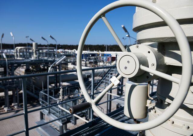 La construction du Nord Stream 2 en Allemagne