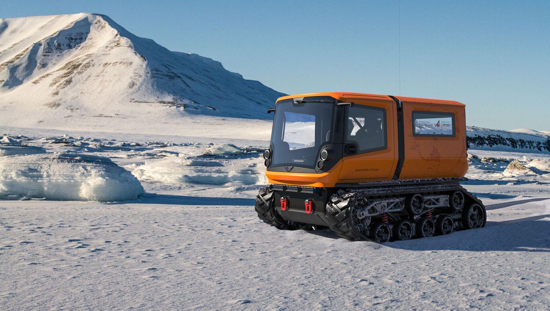 Antarctica, l'engin d'exploration polaire zéro émission  - Sputnik France, 1920, 12.06.2021