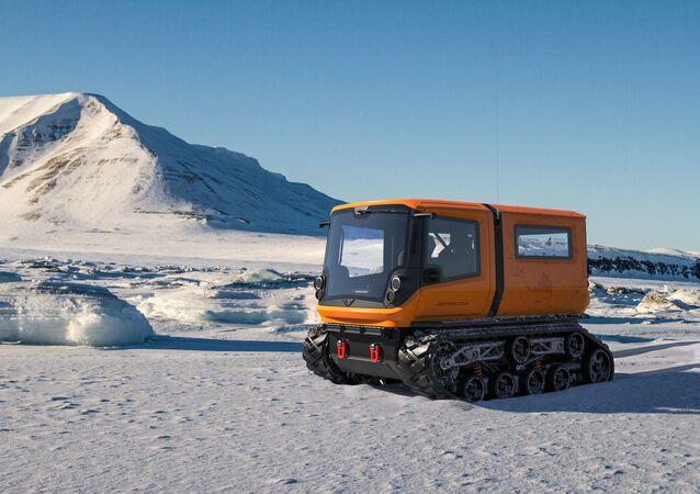 Antarctica, l'engin d'exploration polaire zéro émission