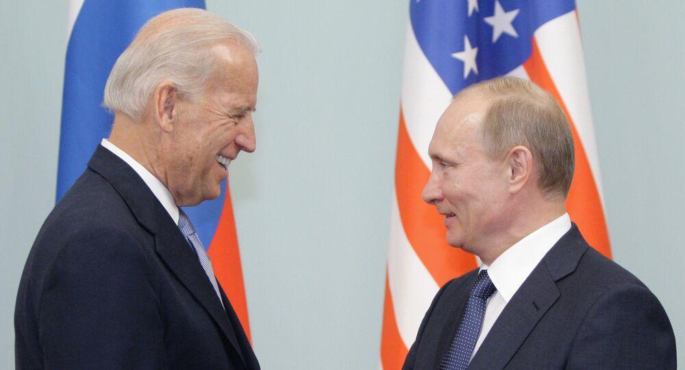 Joseph Biden et Vladimir Poutine