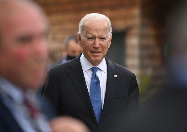 Joe Biden au sommet du G7 en Cornouailles, 11 juin 2021