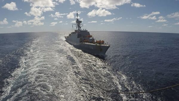Un navire iranien entre dans l'océan Atlantique, le 10 juin 2021 - Sputnik France