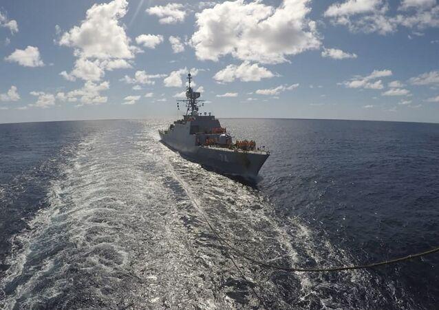 Un navire iranien entre dans l'océan Atlantique, le 10 juin 2021