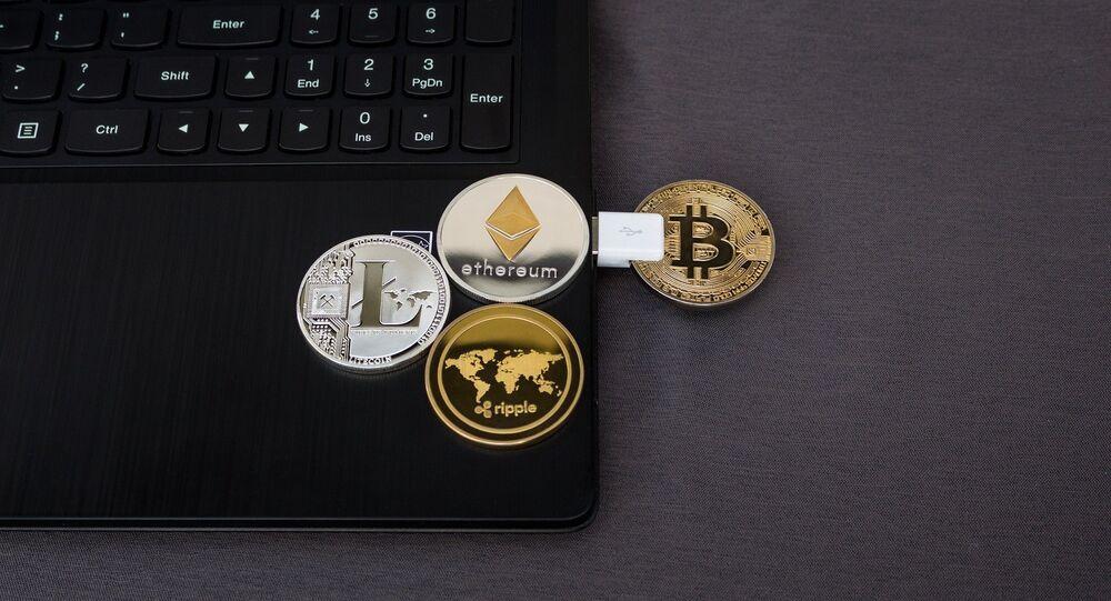 Cryptomonnaies (image d'illustration)