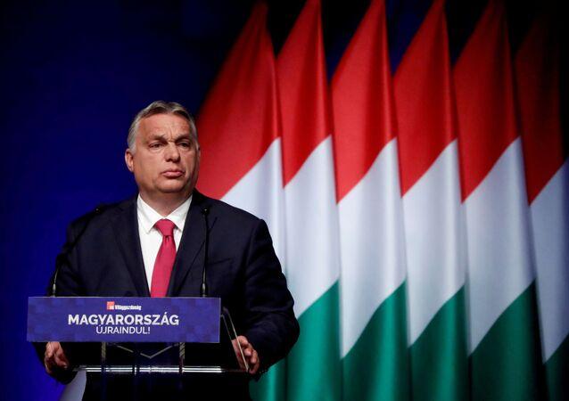 Viktor Orban à Budapest en juin 2021