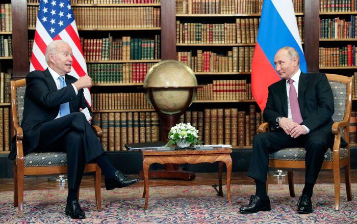 Somment Poutine-Biden à Genève