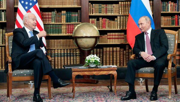 Somment Poutine-Biden à Genève - Sputnik France