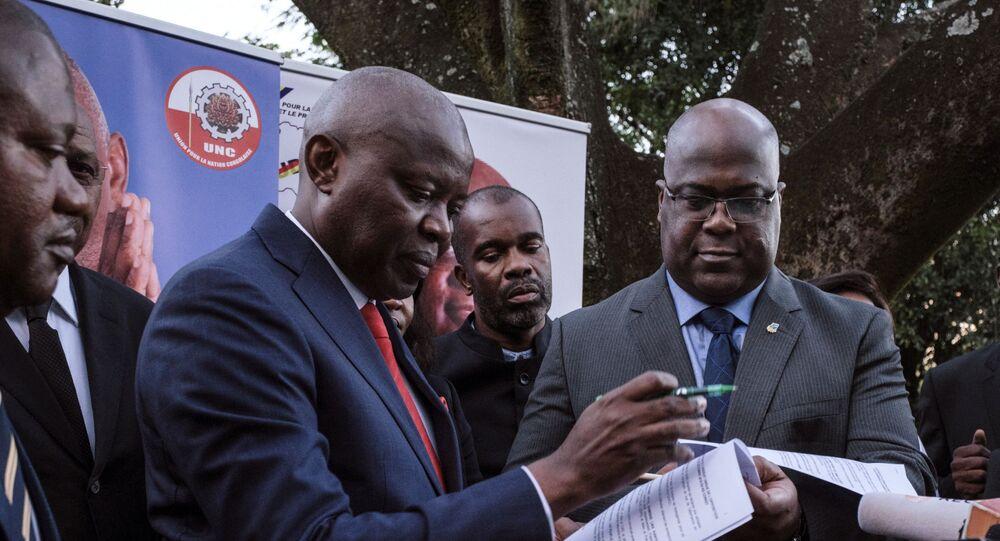 Vital Kamerhe, l'ancien directeur de cabinet du Président congolais