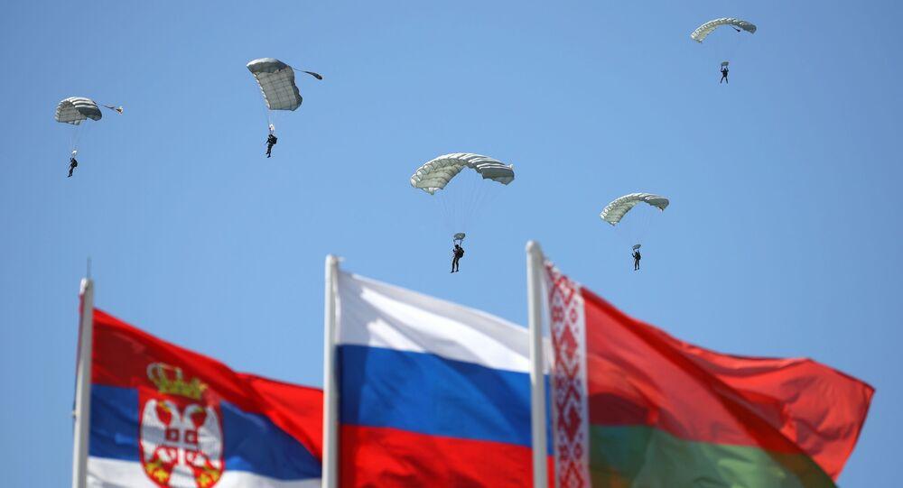 Fraternité slave 2021, l'exercice militaire conjoint entre la Russie, la Biélorussie et la Serbie