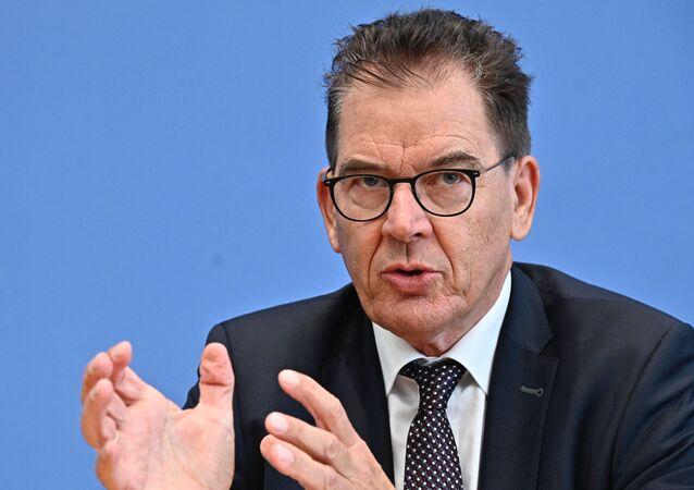 Gerd Müller, ministre fédéral allemand de la Coopération économique et du Développement