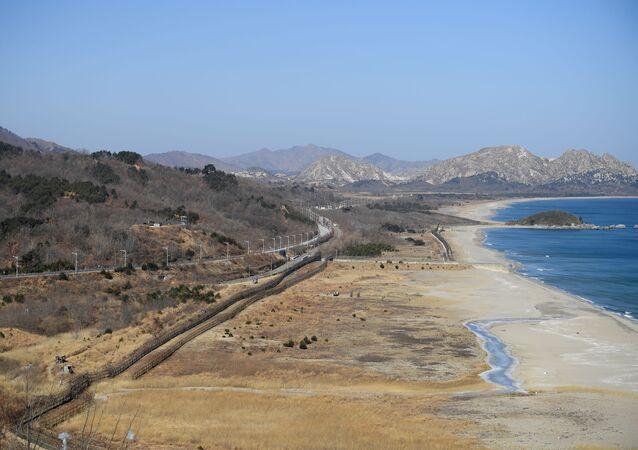 Zone coréenne démilitarisée, image d'illustration