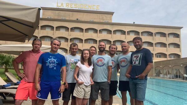 Les touristes russes arrêtés au Tchad en juin 2021 - Sputnik France