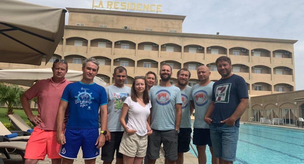 Les touristes russes arrêtés au Tchad en juin 2021