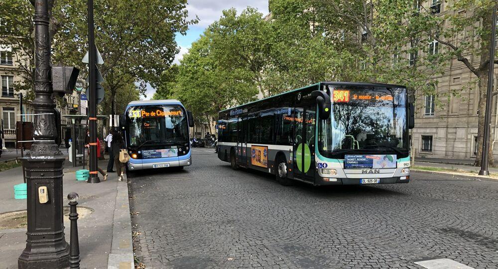Un bus RATP. Image d'illustration