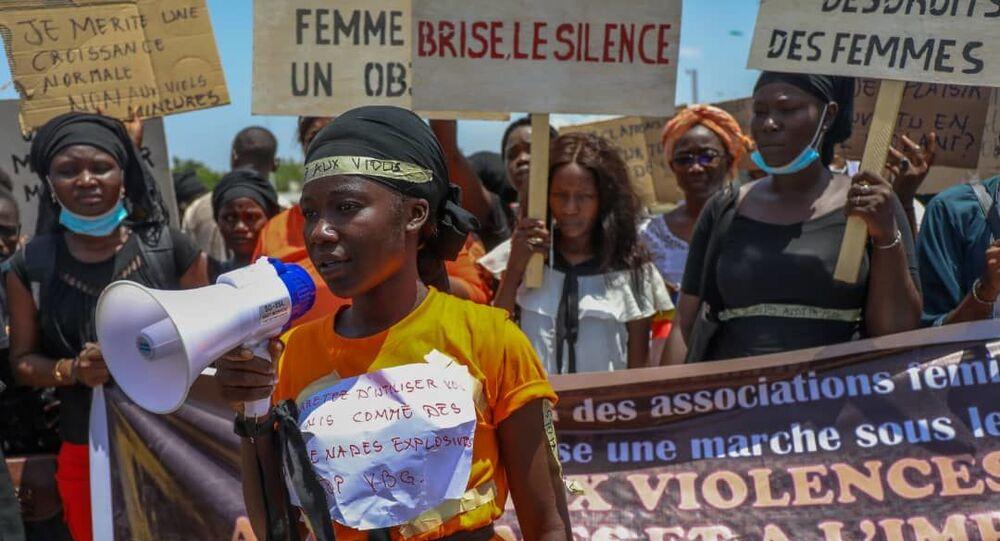La première marche contre les violences basées sur le genre autorisée au Tchad s'est déroulée le 21 juin.