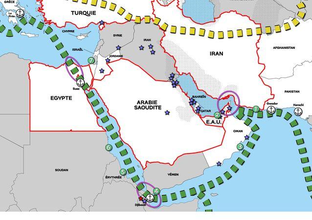La Chine au Moyen-Orient: un nain militaire mais un géant économique