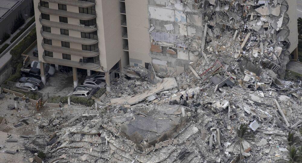 Effondrement d'un immeuble résidentiel près de Miami