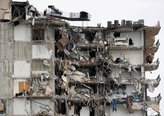 Effondrement d'un immeuble en Floride