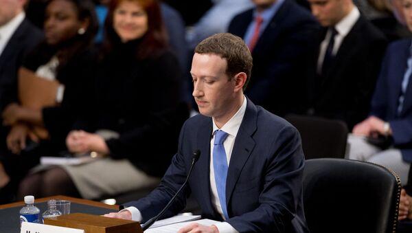 Mark Zuckerberg - Sputnik France