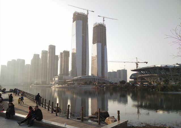 La ville de Changsha, en Chine