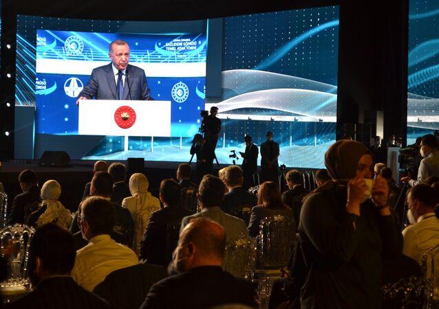 Lancement de la construction du canal d'Istanbul