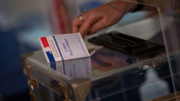 Une carte électorale - Sputnik France